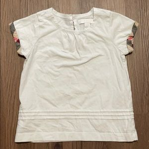 Burberry 4Y Girls Top 100% Athletic  # 8